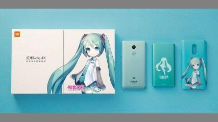 中国Xiaomi初音ミクさんコラボスマホを発売
