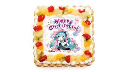 初音ミクさんのクリスマスケーキ