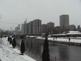 北京の雪景色