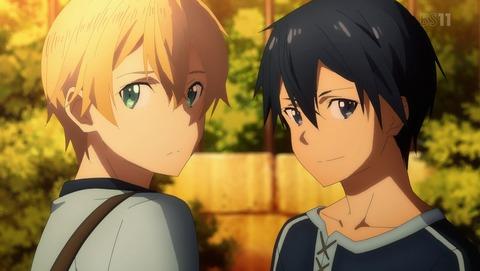 【悲報】アニメ『SAO』、話題が例のハイタッチしかない・・・