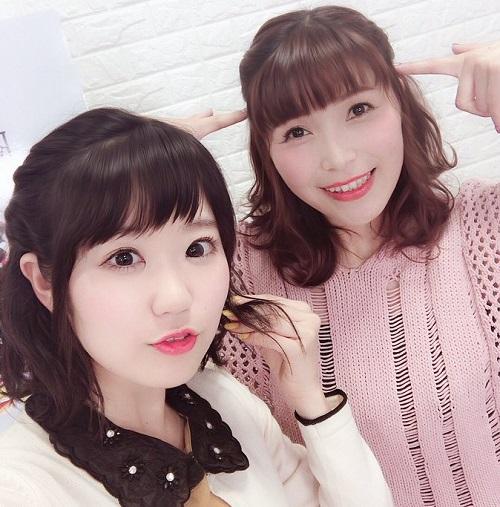 【画像】東山奈央ちゃん、新田恵海さんとお揃いの髪型にする