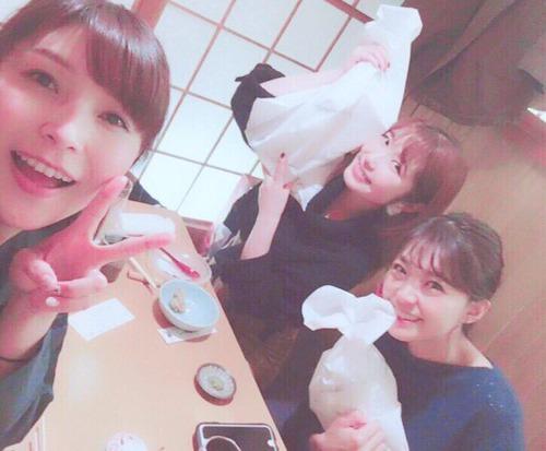 【朗報】内田彩さんと三森すずこさん、新田恵海さんのお誕生日会を開く