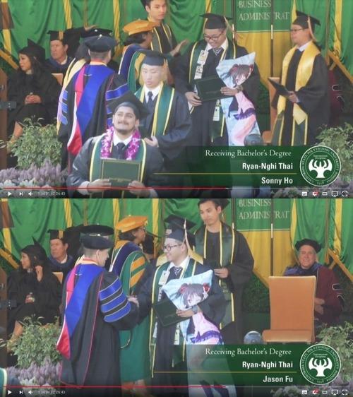【悲報】ラブライバーさん、大学卒業式で快挙を成し遂げるwww