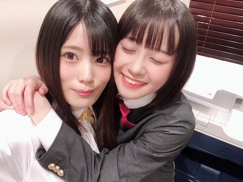 田中ちえ美ちゃんと楠木ともりちゃんのgif画像wwwwww