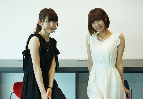 小松未可子さんと安済知佳さんの2ショットが可愛すぎると話題www
