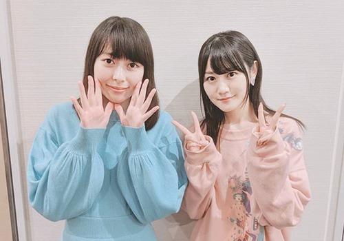 【画像】近藤玲奈ちゃんと小倉唯ちゃんのツーショットが可愛いwww