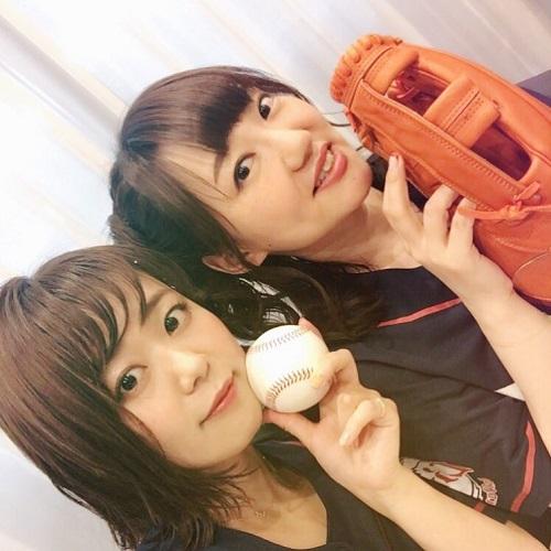 【朗報】井口裕香さんと平野綾さんがノーバン始球式www