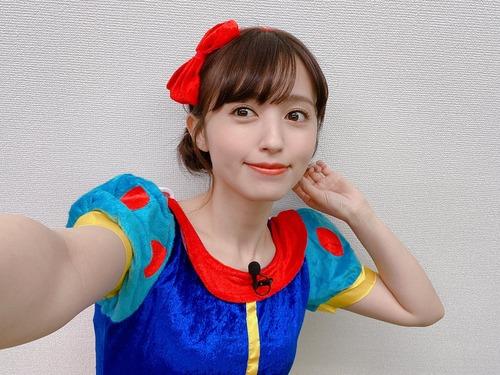 【画像】声優の逢田梨香子さん、白雪姫になる
