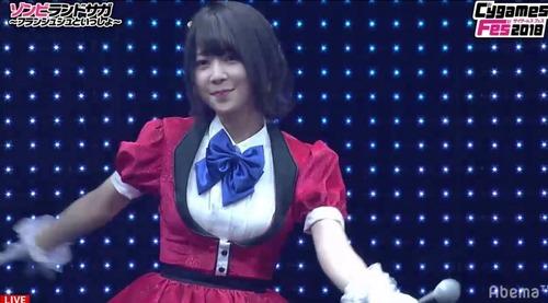 【画像】種田梨沙さん(30)、ブリブリの衣装で踊らされる