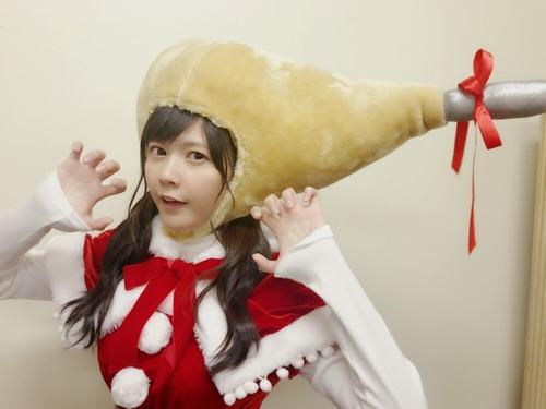 【画像】竹達彩奈さん(28)、チキンになるwww