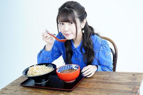 竹達彩奈さん、「つけ麺専門店 三田製麺所」とコラボwww