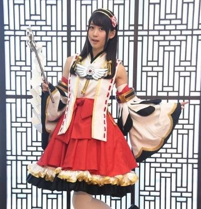 芹澤優ちゃんの巫女さんみたいなコスプレが可愛すぎるwww