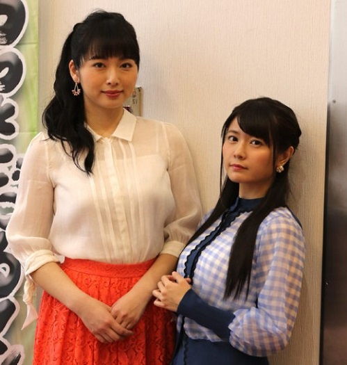 【画像】竹達彩奈さんがBerryz工房・須藤茉麻さんと並んだ結果www