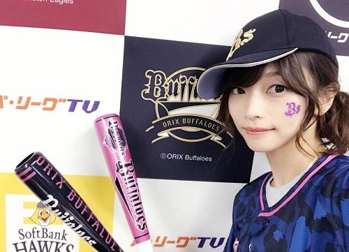 【悲報】立花理香ファン、オリックスに染まる・・・
