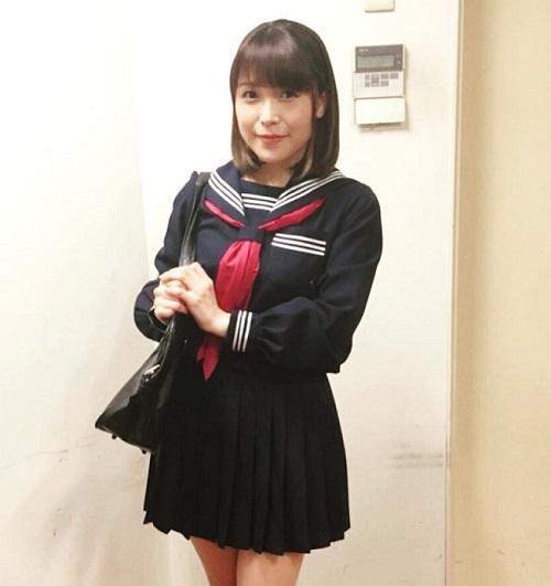 【画像】新田恵海さん、セーラー服を着るwww