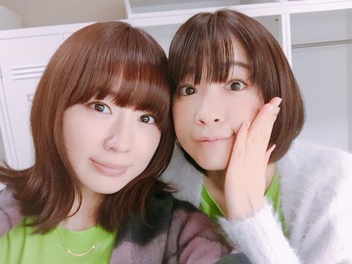 【画像】照井春佳さんと諏訪彩花さんのお胸www
