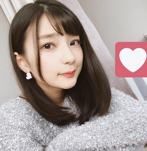 【画像】高野麻里佳ちゃんの髪型が俺好みだと話題にwww