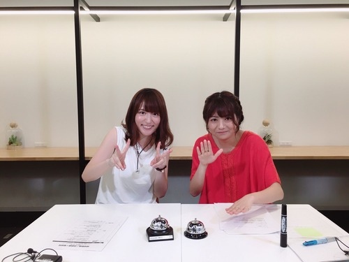 【画像】明坂聡美さんと小松未可子さんが美人すぎるwww