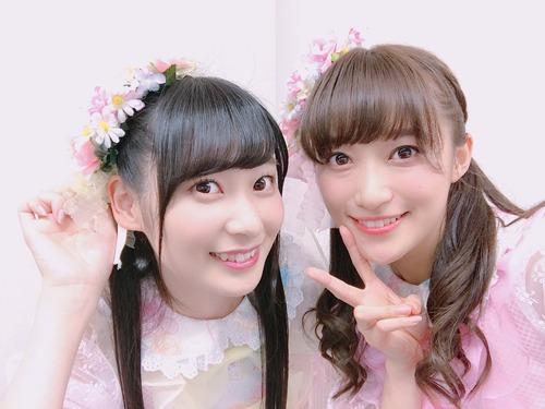 【画像】i☆RisのエースとWUGのエースが並んだ結果www