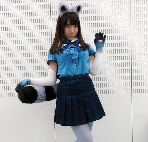 小野早稀さん、あざとい・・・
