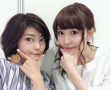 【画像】高橋未奈美さん、伊瀬茉莉也さんとのツーショットが可愛すぎるwww