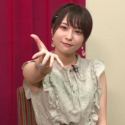 【画像】富田美憂さんの無修正の脇wwwwww