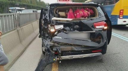 CRAYON POP事故車