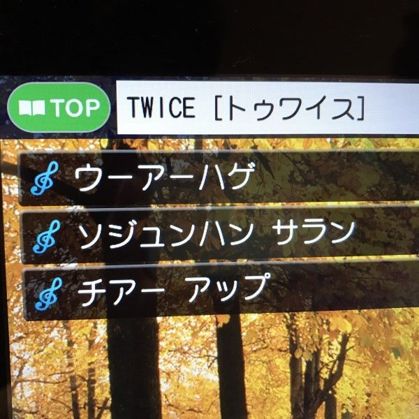TWICEカラオケ