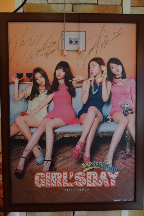 GIRL'S DAY サイン