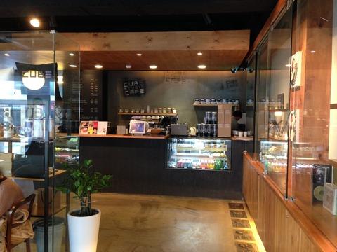 CUBE Cafe 内観