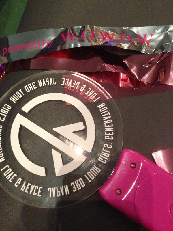 少女時代 LOVE&PEACE SPECIAL LIVE powered by WOWOW