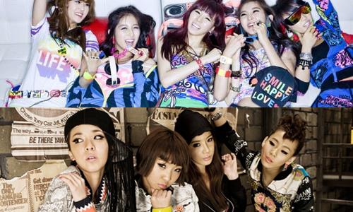 4Minute & 2NE1