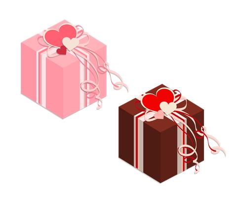 プレゼント箱のイラスト素材