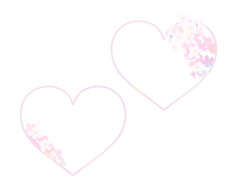 サクラフレーム淡いピンク