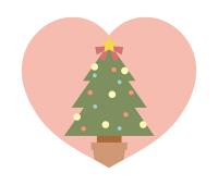 クリスマスツリーイラスト素材