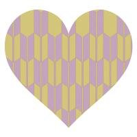 やがすり薄茶と濁った紫色
