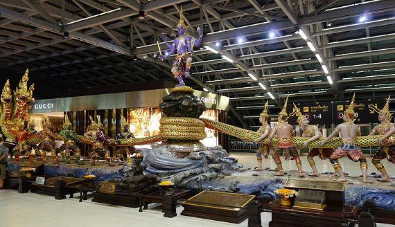 タイ航空ロイヤルシルクラウンジへ行ってきた