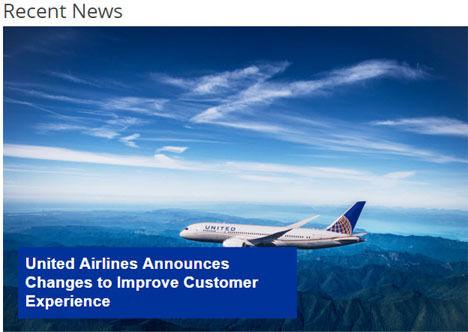 ユナイテッド航空は顧客サービス改善策を発表、オーバーブッキング時の補償額の上限が10,000米ドルに!