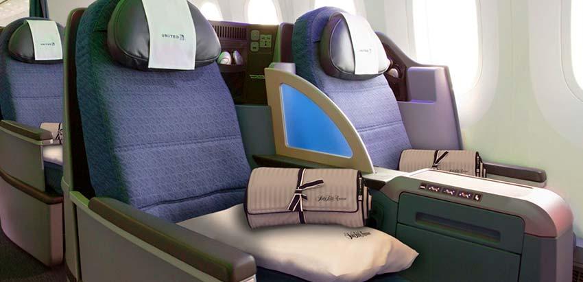 ユナイテッド航空 ポラリス・ビジネス 成都=ロサンゼルス往復 18万円台