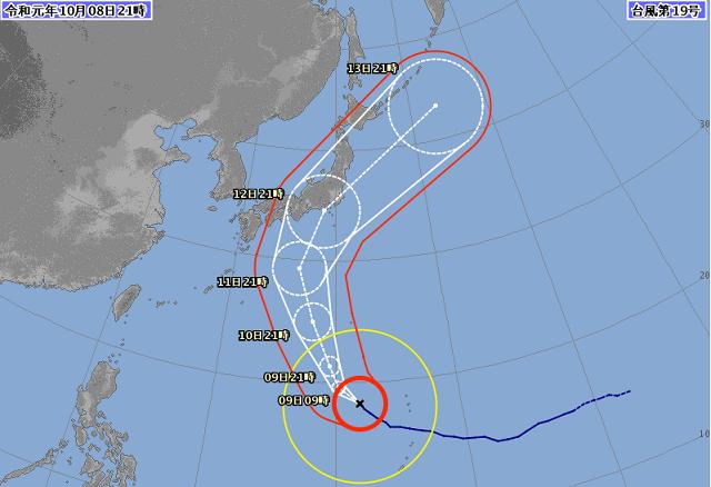 【10日更新!】台風19号によるJAL/ANAの振り替え・キャンセル対応について