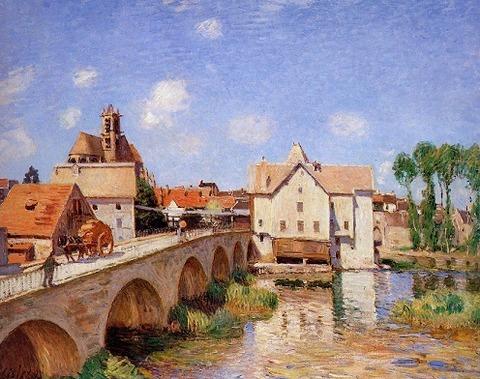 Sisley-le_pont_de_moret-1893_huile_toile-orsay