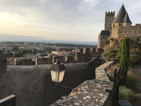 城塞から旧市街の眺め2