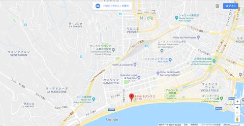 ニース ホテル②