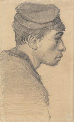若い男の顔vangoghmuseum-d0368V1962-800