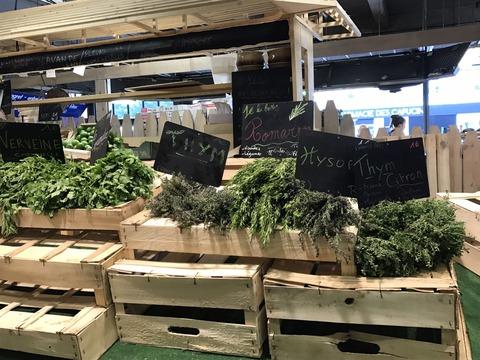マルシェ・野菜売り場