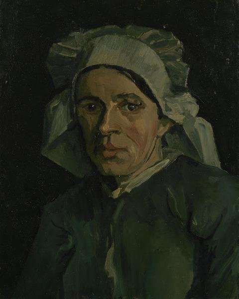 女性の顔vangoghmuseum-s0072V1962-800