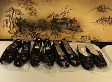 お土産中国靴