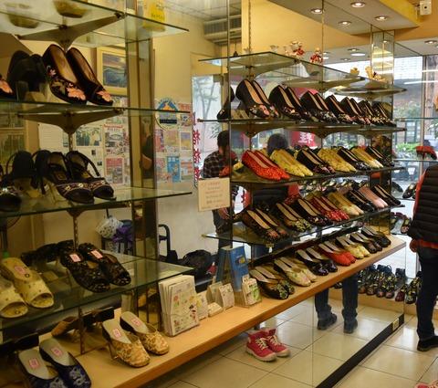 靴屋店内1