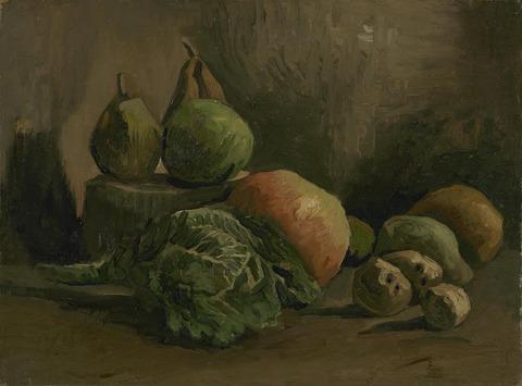 野菜と果物のある静物vangoghmuseum-s0070V1962-800