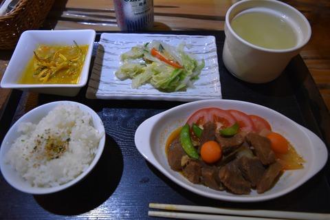 烏來ホテル夕食1